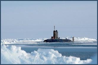 Submarines reach North Pole